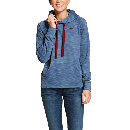 Ariat Conquest Hoodie - Lake Life