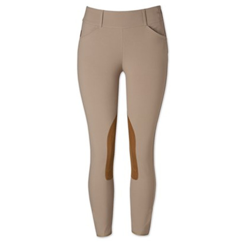 The Tailored Sportsman Trophy Hunter Low Rise Side Zip Breeches - Tan