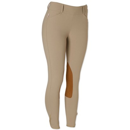 The Tailored Sportsman Mid Rise Side Zip - Tan