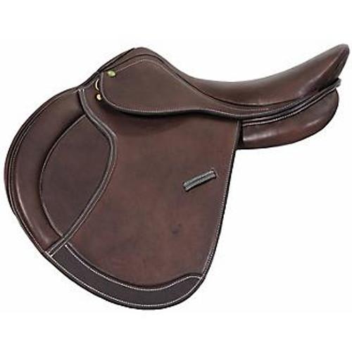 Henri de Rivel Pro Concept Close Contact Saddle - Havana