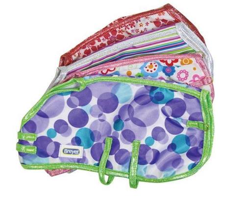 Breyer colorful blanket