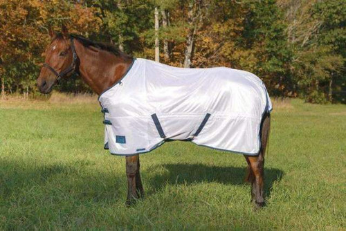 Shires Tempest Fly Sheet - Standard Neck - White
