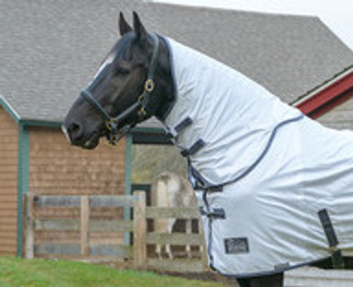 Shires Tempest fly neck cover - white