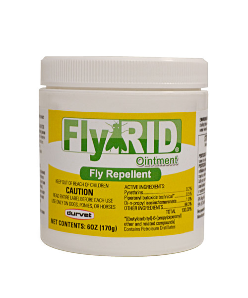 Fly RID Ointment by Durvet - 6 oz.