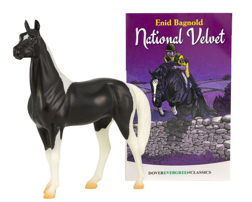 Breyer National Velvet Book and Horse set
