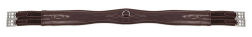 Shires Leather Overlay Girth