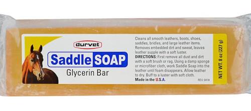 Durvet Saddle Soap Glycerin Bar