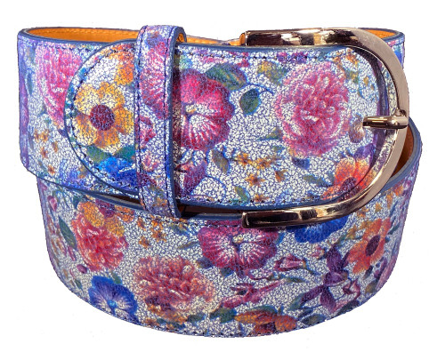 The Tailored Sportsman Flower Power Belt