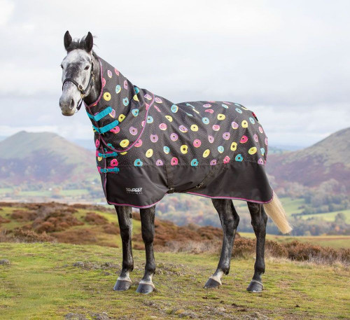 Shires Tempest Original Lite Turnout Sheet - Grey Donut Neck piece not included