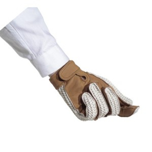 Ovation Crochet Back Riding Gloves - Women's