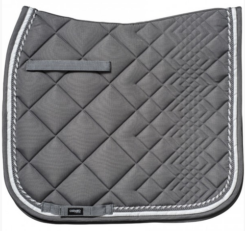 CATAGO Diamond Dressage Saddle Pad - Grey