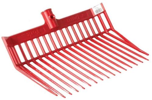 Durafork Replacement Pitchfork Head - Red