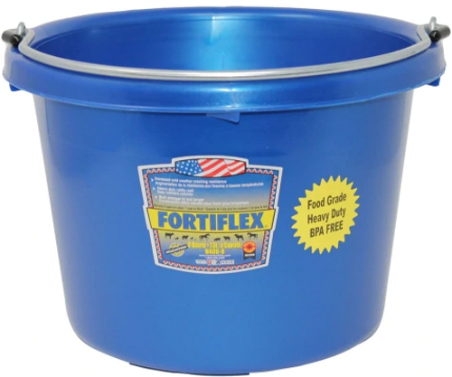 Utility Pail - 8 Qt Plastic Bucket - Navy
