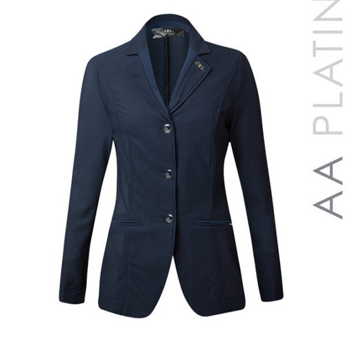 AA Platinum Ladies Motion Lite Show Coat - Navy