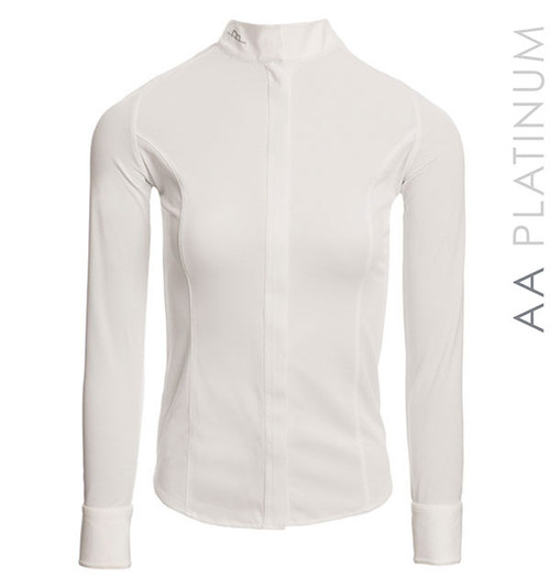 AA Platinum Clean Cool Fresh Ladies Competition Shirt - White
