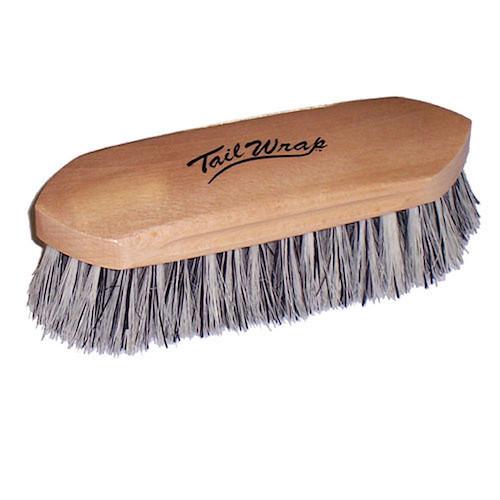 TailWrap Wooden Block Grey Union Brush