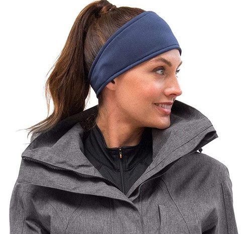 Kerrits Protek Fleece Headband - Dark Denim