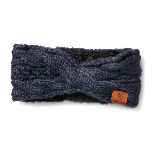Ariat Cable Headband - Navy
