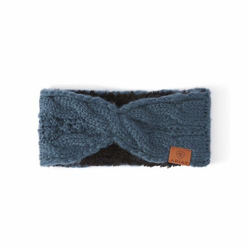 Ariat Cable Headband - Eurasian Teal