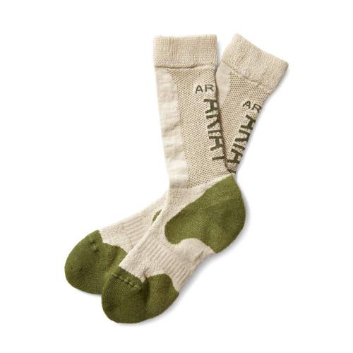 Ariat Alpaca Socks - Prairie/Oatmeal
