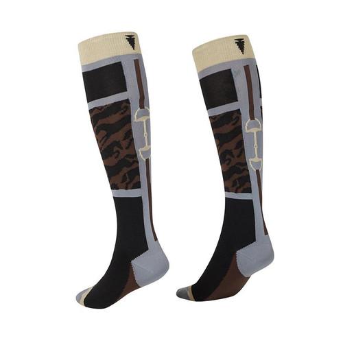 Kerrits Unbridled Horse Wool Socks - Black