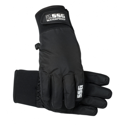 SSG Snow Bird Children's Winter Gloves - Black