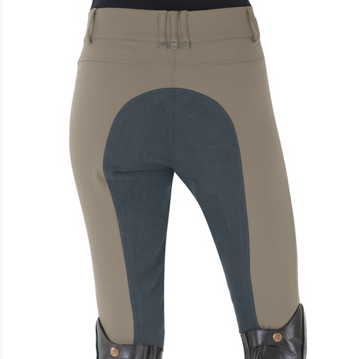 Romfh Sarafina Full Seat Breeches - Fatigue/Omber Blue
