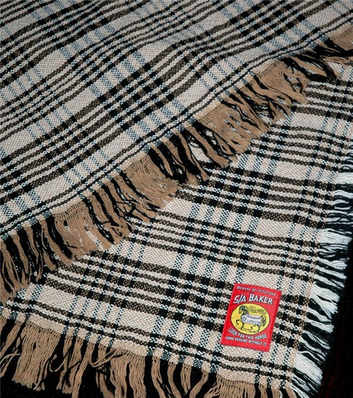 5/A Baker Plaid Afghan