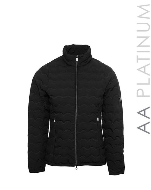 AA Platinum Ladies Cortina Padded Seamless Jacket - Navy