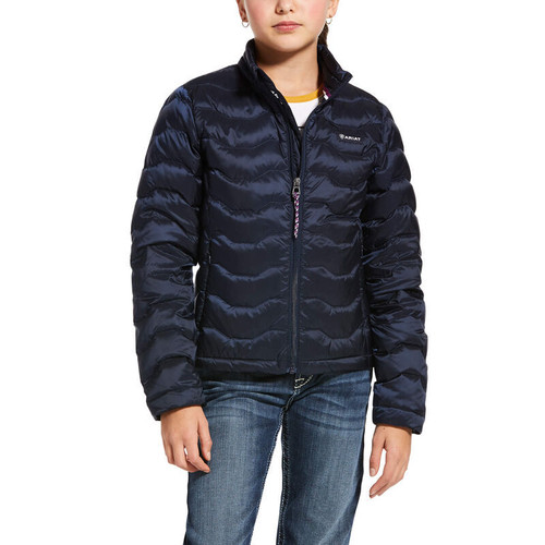 Ariat Youth Ideal Down Jacket - Navy