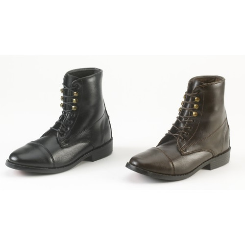 EquiStar Kids' Lace paddock boots