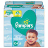 Pampers - Baby Wipes - 1 Ply Baby Fresh Scented with Pop-Top - 72 Sheets x 7 = 504/Case