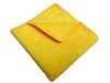 Amber - 16 x 16 Yellow - Micro Fibre Cloth - 10/Pack