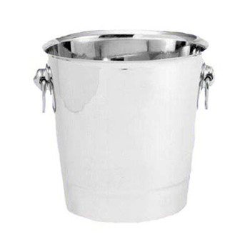 """JR - 7892 - Champagne Bucket - 7.6"""" x 8"""" Stainless Steel"""