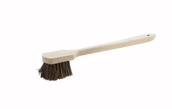 """Winco - BRP-20 - Pot Brush With Wood Handle, 20"""" - 1/Each"""