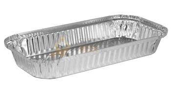 HFA - 4046-40-250 - 3lb Rectangular Foil Container - 250/Case