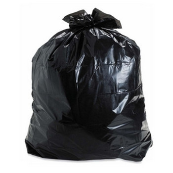 AMBER 30 x 38 Regular  Black Garbage Bags 250/cs