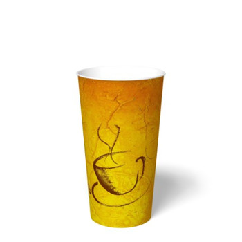 International Paper - SMR-20 - 20 oz Soho Print, Hot Paper Cup