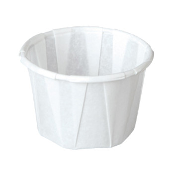 Genpak - F100 - 1 oz Paper Souffle / Portion Cups - 5000/case