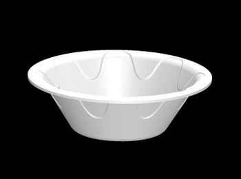 Darnel - DU5006501 - 12 oz Foam Bowl, White - 1000/case
