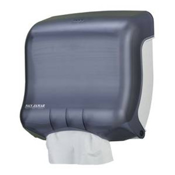 San Jamar - T1750TBK - Ultrafold™ Multifold/C-Fold Towel Dispenser, Black Pearl