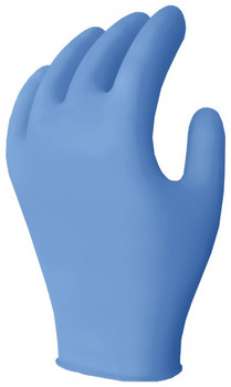 Ronco Nitrile Disposable Gloves (Blue)- 3.5 mil Powder Free - 1,000/Case