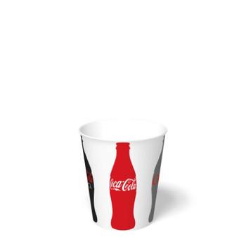 International Paper - DMS-12 - 12 oz Coca Cola Print II, Cold Paper Cups - 2000/cs