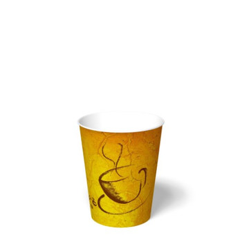 International Paper - SMR-12 - 12 oz Soho Print, Hot Paper Cups