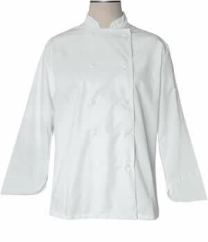 """Bodyguard - GSP1210 - 17"""" Cook Shirt, White - Each"""