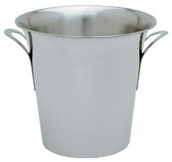 """JR - 7894 - Champagne/Wine Bucket - 8.5"""" H Stainless Steel"""