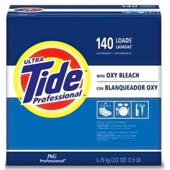 TIDE 6.29 KG, 140 LOAD PROFESSIONAL LAUNDRY DETERGENT POWDER WITH OXY BLEACH