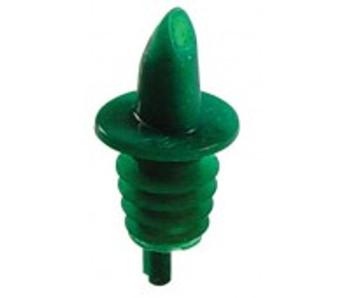 JR - 7781 - Plastic Continuous Flow Pourer (Kelly Green)
