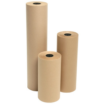 "Amber - DD25 - 15"" x DIA. 7"" Kraft Paper Rolls - 1 Roll/Each"