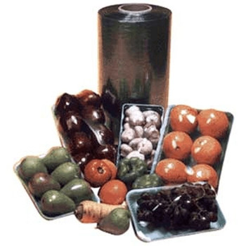 "Western Plastics - PW1839 - Produce Wrap Film 18""X3900' - 1 Unit/Roll"